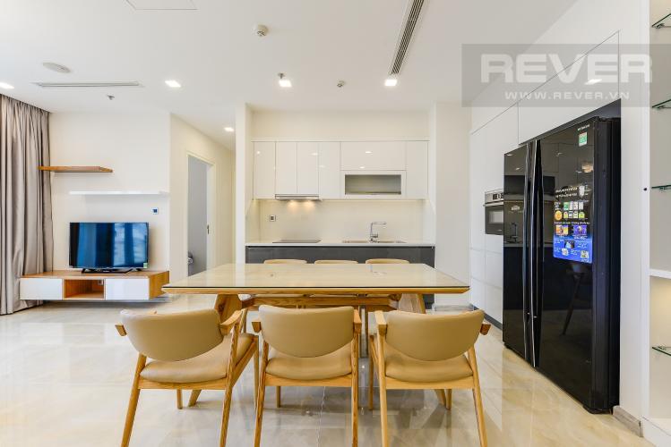 Bếp Căn hộ Vinhomes Golden River tầng thấp tòa Aqua 4, 73,3m2, 2 phòng ngủ, full nội thất