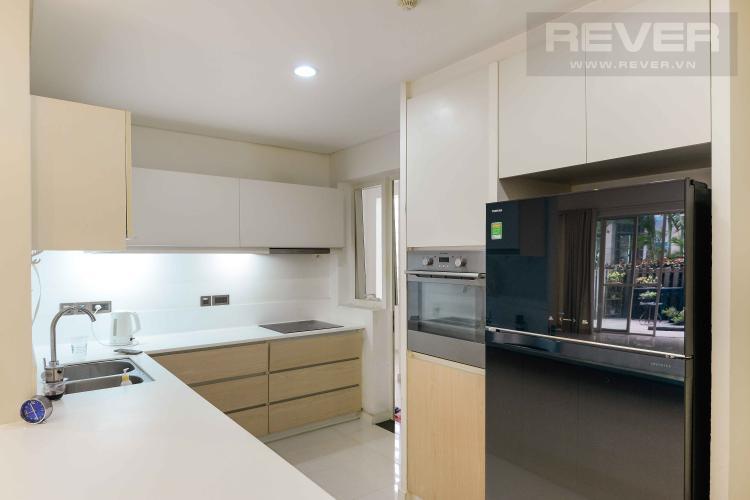 Bếp Bán hoặc cho thuê căn hộ sân vườn Estella Residence 3PN, có 2 cửa, diện tích 171m2, nội thất cơ bản