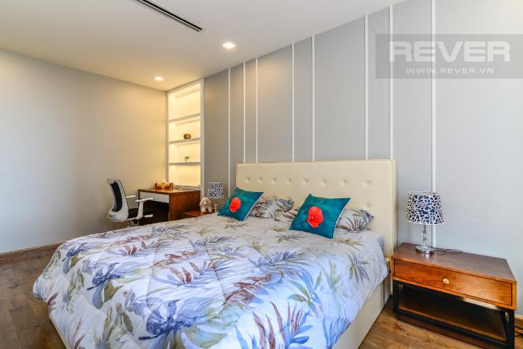 Phòng Ngủ 4 Căn hộ Vinhomes Central Park 4PN, tầng thấp, đầy đủ nội thất