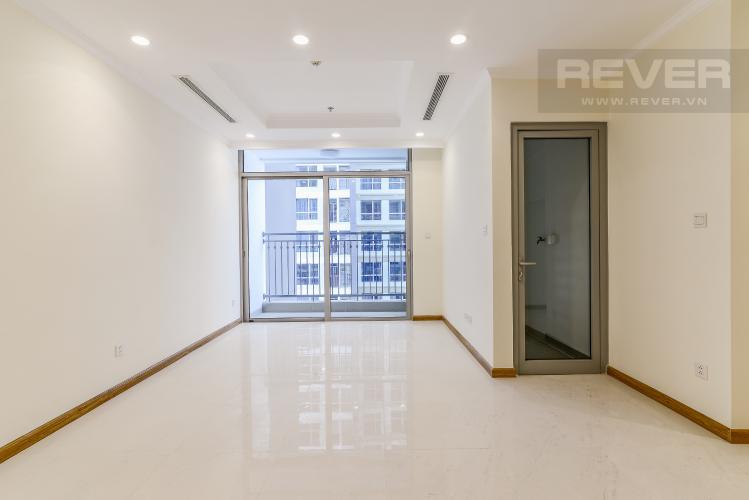 Phòng Khách Officetel Vinhomes Central Park 2 phòng ngủ tầng cao L5 hướng Tây Nam