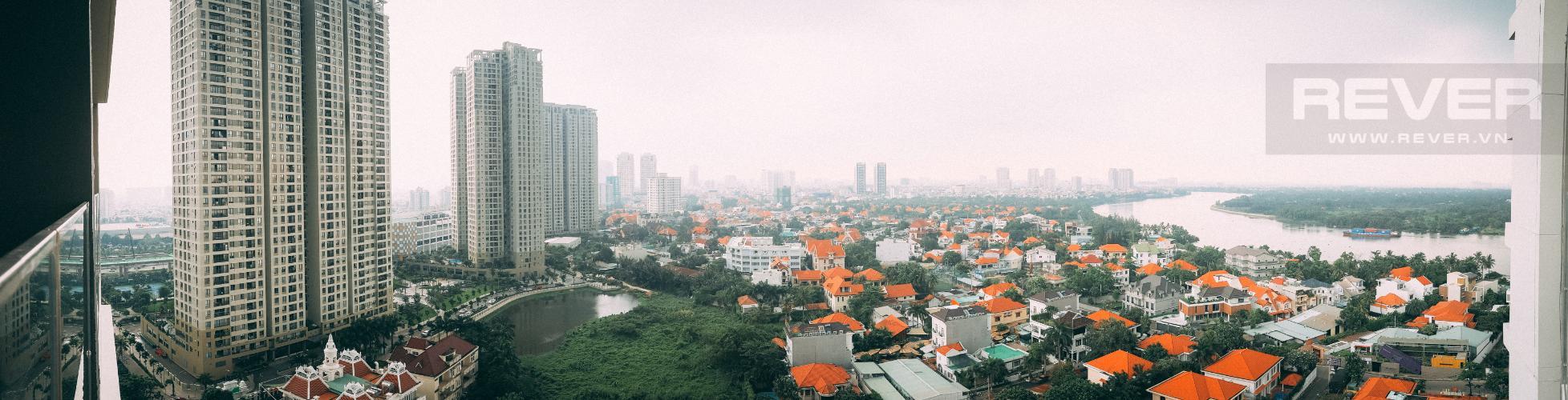View Bán căn hộ The Nassim Thảo Điền tầng cao, 2PN, view sông