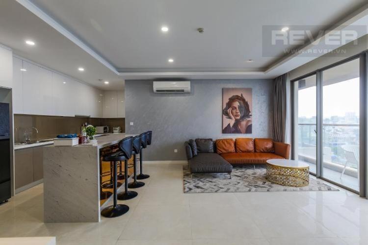 Căn hộ Masteri Millennium tầng 7, đầy đủ nội thất.
