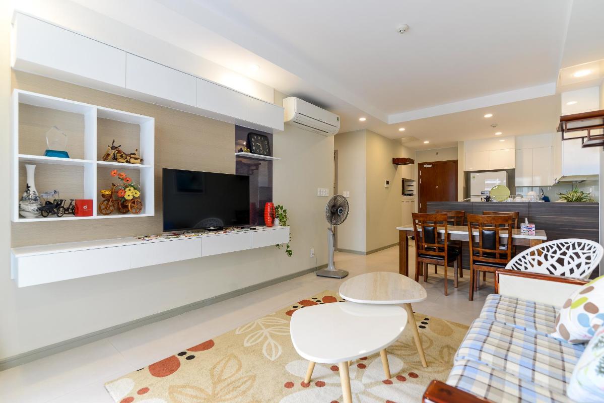 f3258aafd042361c6f53 Cho thuê căn hộ The Gold View 2PN, tháp A, đầy đủ nội thất, view hồ bơi và kênh Bến Nghé