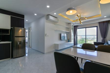 Cho thuê căn hộ De Capella 3PN, tầng cao, đầy đủ nội thất, hướng Đông Bắc đón gió