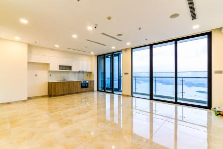 Căn hộ Vinhomes Golden River 3 phòng ngủ tầng trung A4 view sông