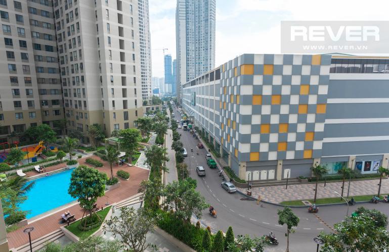 View Căn hộ Masteri Thảo Điền 2 phòng ngủ tấng thấp T1, nội thất đầy đủ