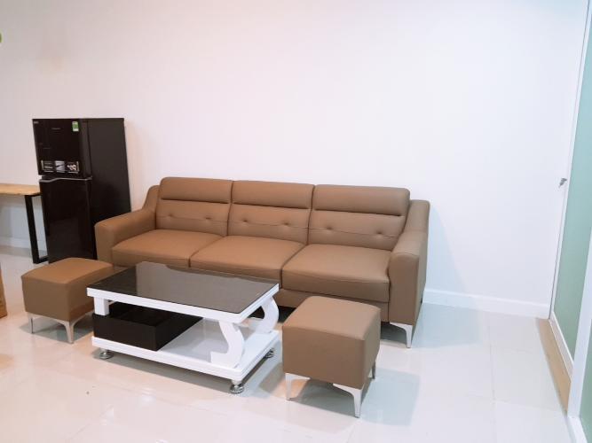 Phòng khách căn hộ chung cư Galaxy 9, Quận 4 Căn hộ chung cư Galaxy 9 đầy đủ nội thất, view nội khu.