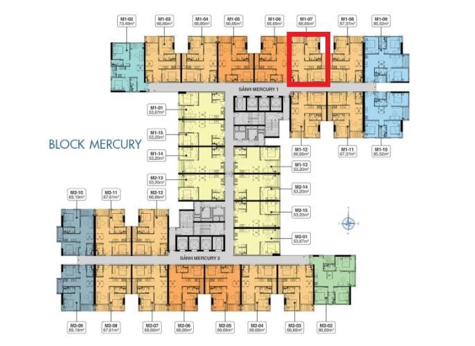 Bản vẽ căn hộ Q7 Saigon Riverside Bán căn hộ tầng trung Q7 Saigon Riverside, view hồ bơi nội khu thoáng mát, thiết kế hiện đại.