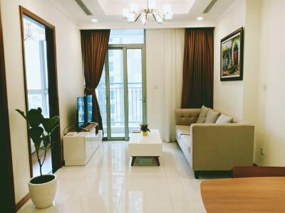 Bán căn hộ Vinhomes Central Park 1PN, tháp Landmark 5, diện tích 52m2, hướng ban công Tây Nam