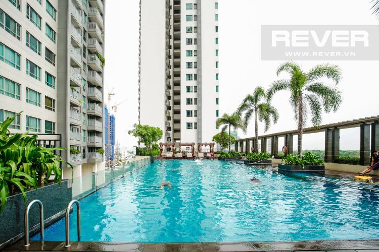 Hồ Bơi Cho thuê căn hộ Riviera Point 2PN, tầng trung, tháp T4, đầy đủ nội thất, view sông mát mẻ