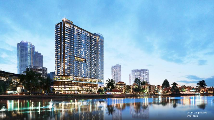 Bán căn hộ Q2 THAO DIEN 2 phòng ngủ, tầng thấp, tháp T2, diện tích 71m2