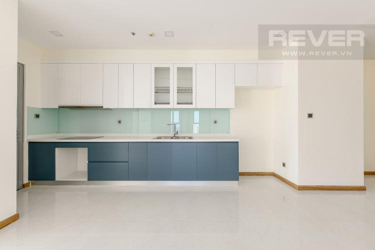 Bếp Căn hộ Vinhomes Central Park 4 phòng ngủ tầng cao P2 view sông