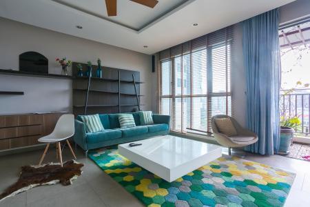 Căn hộ Riviera Point 3 phòng ngủ tầng thấp T4 view hồ bơi