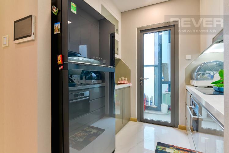 Nhà Bếp Cho thuê căn hộ Vinhomes Central Park tầng cao, 2PN đầy đủ nội thất tiện nghi, sang trọng