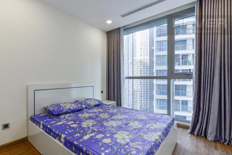 Phòng Ngủ 2 Căn hộ Vinhomes Central Park 2 phòng ngủ tầng trung P7 đầy đủ nội thất