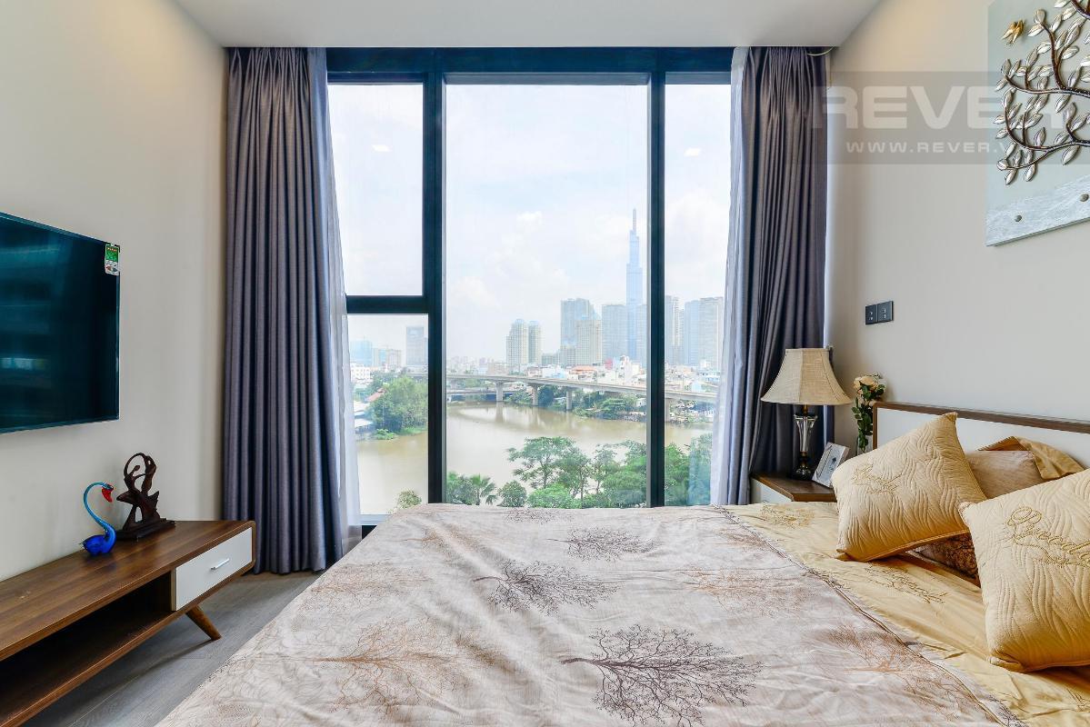 7 Cho thuê căn hộ Vinhomes Golden River 2PN, tầng thấp, đầy đủ nội thất, view sông và Landmark 81