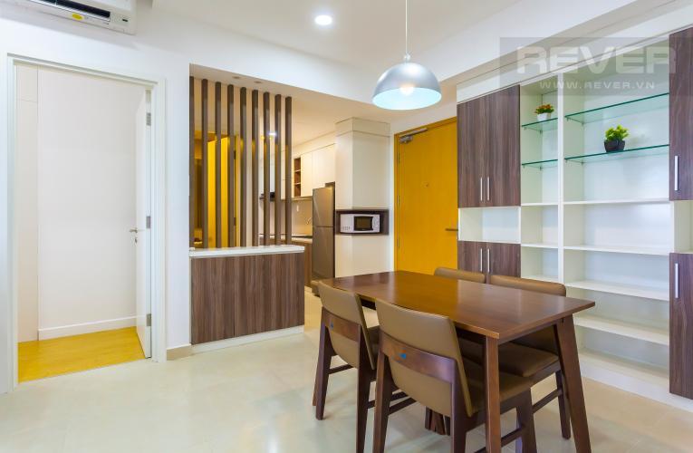 Bàn ăn Căn hộ Masteri Thảo Điền trung tầng T2 thiết kế đẹp, đầy đủ tiện nghi