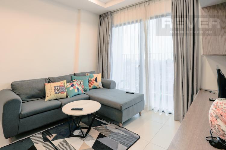 Phòng Khách Bán căn hộ M-One Nam Sài Gòn tầng trung, 2PN đầy đủ nội thất