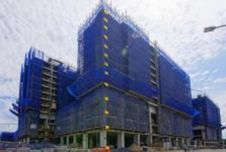 Mặt bằng căn hộ Q7 Saigon Riverside Bán căn hộ Q7 Saigon Riverside tầng trung, tháp Uranus, diện tích 66m2 - 2 phòng ngủ, chưa bàn giao