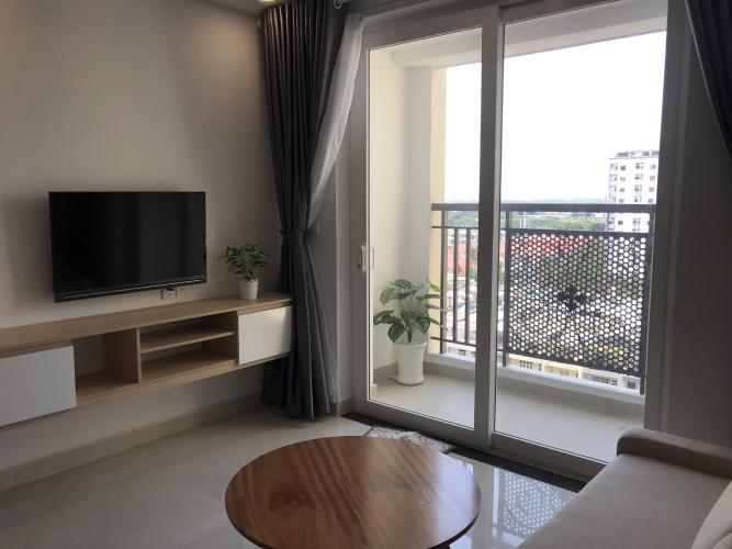 Phòng khách căn hộ Saigon Mia Bán hoặc cho thuê căn hộ Saigon Mia 2PN, tầng 17, diện tích 55m2, đầy đủ nội thất