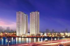 Bên trong căn hộ mẫu dự án giá chỉ 1.3 tỷ/căn 2 phòng ngủ tại khu Nam Sài Gòn
