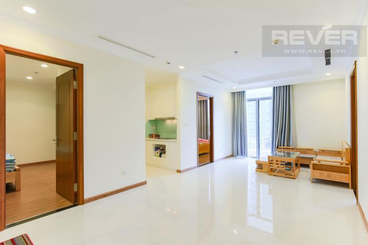 Phòng Khách Căn hộ Vinhomes Central Park 3 phòng ngủ tầng thấp Landmark 2 view nội khu