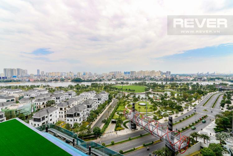 View Cho thuê căn hộ Vinhomes Central Park tầng cao, 2PN với hệ thống nội thất tiện nghi, sang trọng