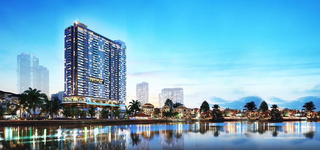 Bán căn hộ Q2 THAO DIEN tầng cao, tháp T1, diện tích 53.69m2 - 1 phòng ngủ