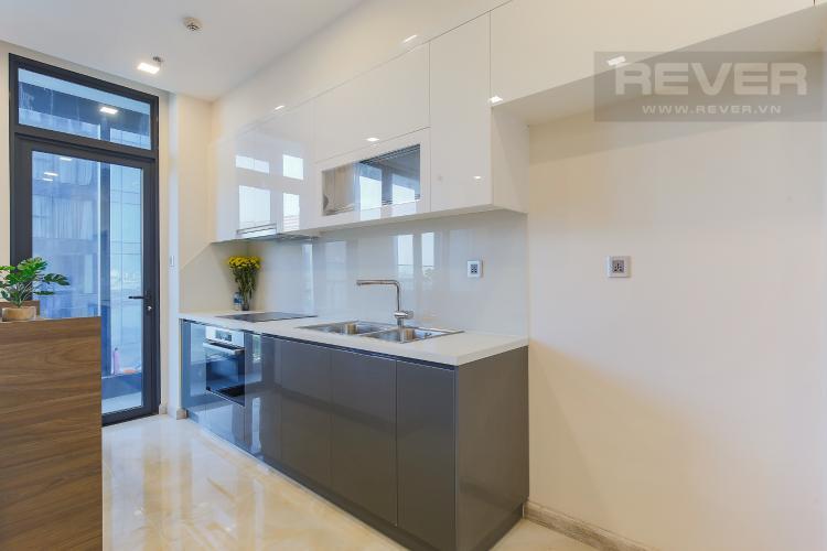 Phòng Bếp Căn hộ Vinhomes Golden River tầng tháp, 2PN đầy đủ nội thất