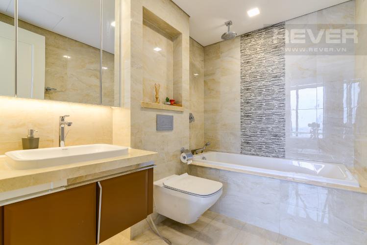 Phòng Tắm 2 Cho thuê căn hộ Vinhomes Golden River tầng cao 3PN đầy đủ nội thất view sông