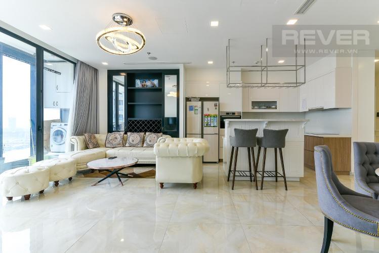 Bán căn hộ Vinhomes Golden River 3PN, diện tích 118m2, đầy đủ nội thất, view sông và Bitexco
