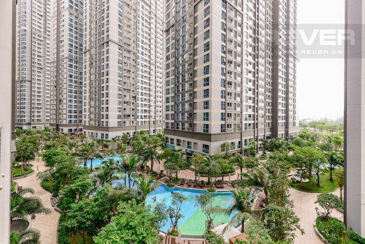 View Căn hộ Vinhomes Central Park tầng thấp, Park 7, 2 phòng ngủ, view nội khu