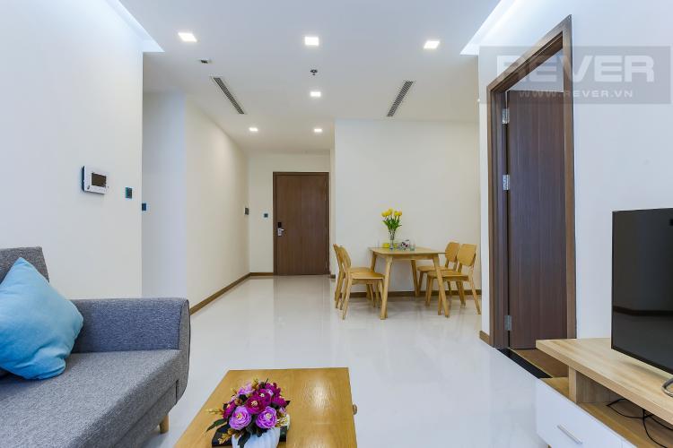Phòng Khách Căn hộ Vinhomes Central Park 2 phòng ngủ Park 4 view nội khu