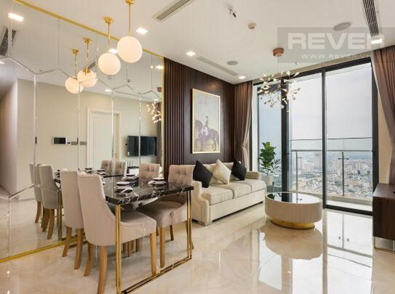 91a71104cb592d077448 Cho thuê căn hộ Vinhomes Golden River 2PN, tầng cao, tháp The Aqua 2, đầy đủ nội thất, view sông và tháp Landmark 81