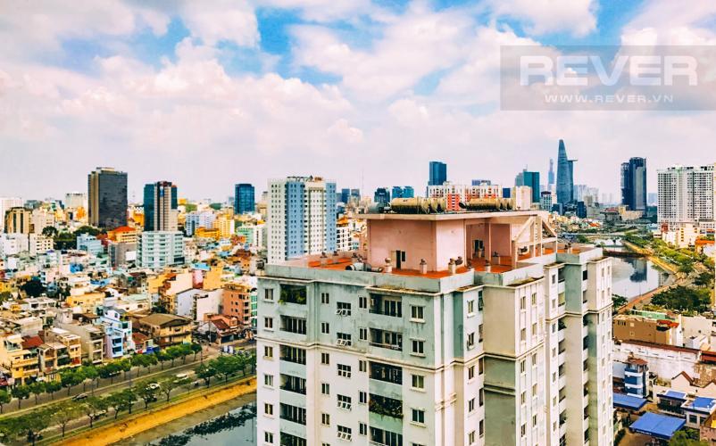View Cho thuê căn hộ The Gold View 2PN, tầng cao, đầy đủ nội thất, view sông và Bitexco