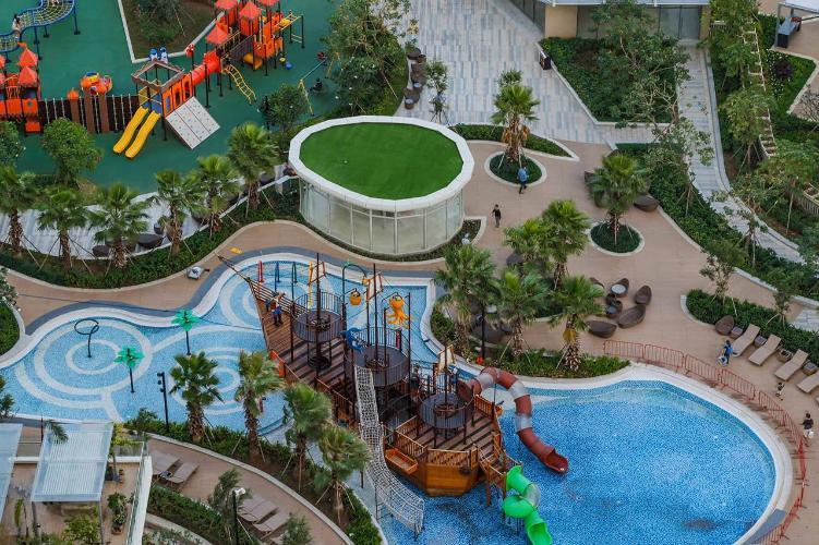 9.jpg Cho thuê căn hộ Diamond Island - Đảo Kim Cương 2PN, tháp Bahamas, đầy đủ nội thất, view hồ bơi và công viên