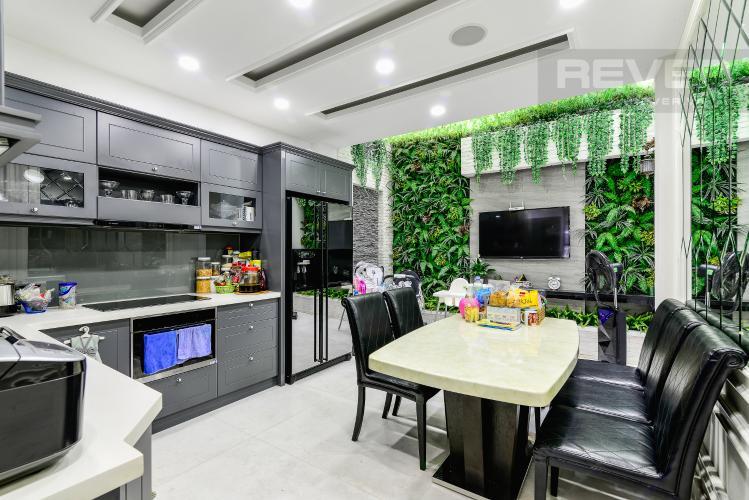 Nhà Bếp Nhà phố 3 phòng ngủ đường Võ Văn Kiệt, phường 6, Quận 5