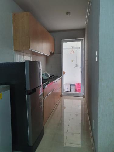 bếp căn hộ CBD Premium Home Căn hộ CBD Premium Home tầng trung, view nội khu hồ bơi.