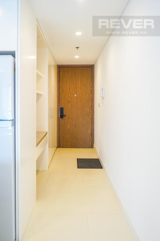 Lobby Cho thuê căn hộ City Garden 1 phòng ngủ, tháp Promenade 2, đầy đủ nội thất, view trực diện hồ bơi