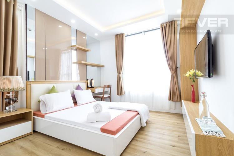 Phòng Ngủ 2 Căn hộ Icon 56 3 phòng ngủ tầng trung đầy đủ nội thất
