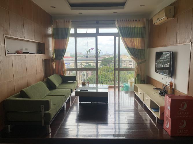 Phòng khách chung cư Tân Tạo, Bình Tân Căn hộ chung cư Tân Tạo hướng Tây Bắc, view nội khu.