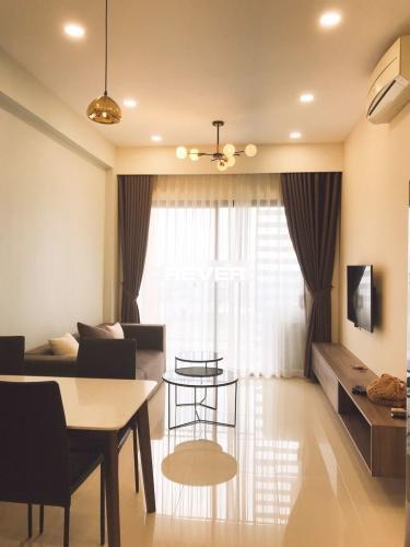 Phòng khách căn hộ The Sun Avenue, Quận 2 Căn hộ The Sun Avenue view tầng cao, đầy đủ nội thất tiện nghi.