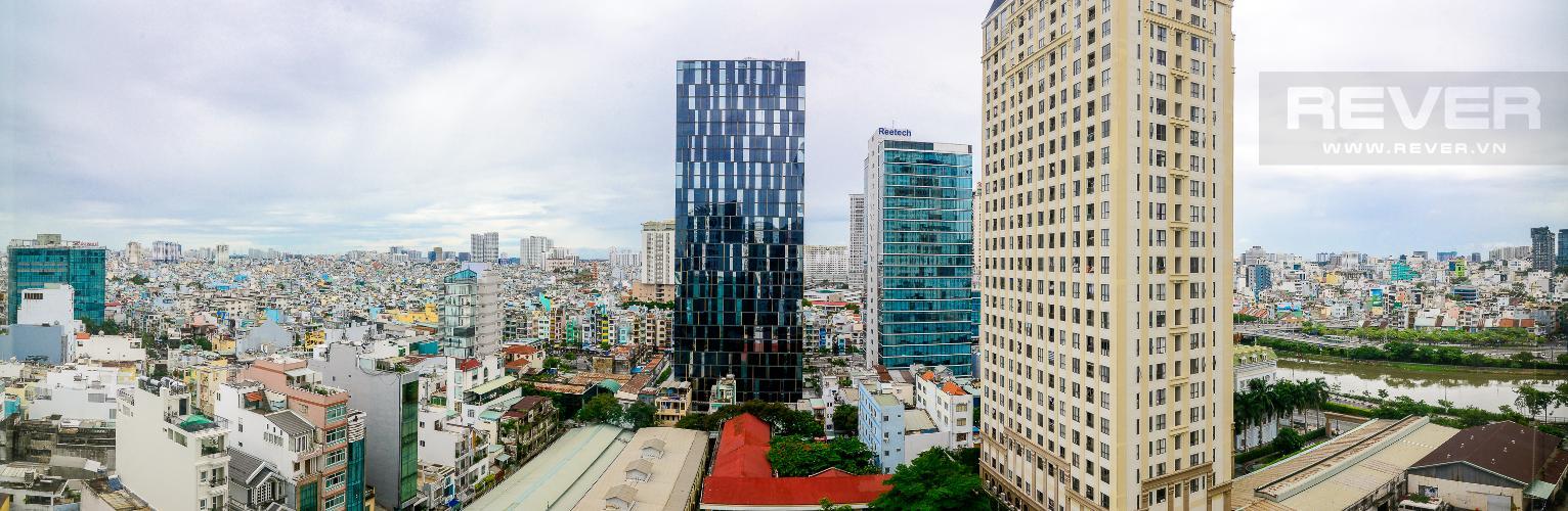 View Cho thuê căn hộ The Tresor 2PN, tháp TS2, đầy đủ nội thất, view sông Bến Nghé
