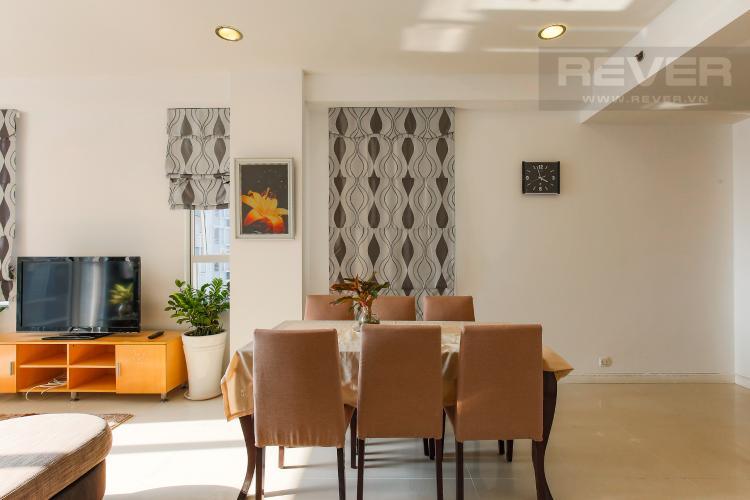 Bàn Ăn Căn hộ Sunrise City 2 phòng ngủ tầng thấp V5 đầy đủ tiện nghi