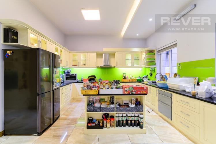 Nhà Bếp Cho thuê biệt thự Khu dân cư An Phú, hướng Đông Nam, thiết kế sang trọng, đầy đủ nội thất