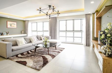 Bán căn hộ Happy Valley 3PN, tầng thấp, đầy đủ nội thất, view trực diện sông