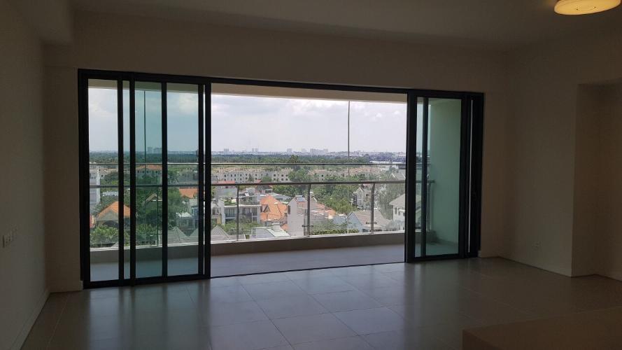 Căn hộ Gateway Thảo Điền tầng trung, ban công rộng rãi.