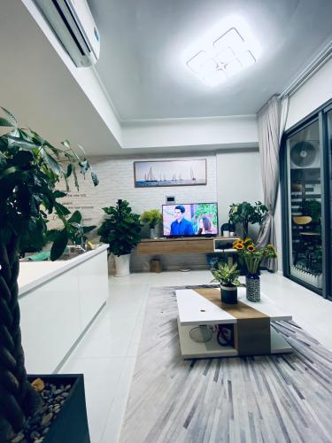 Bán căn hộ Masteri An Phú được trang trí theo phong cách tối giản.