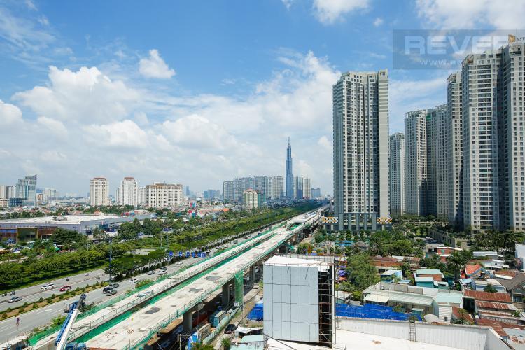 View Căn hộ Gateway Thảo Điền 1 phòng ngủ tầng trung tháp B nội thất đầy đủ