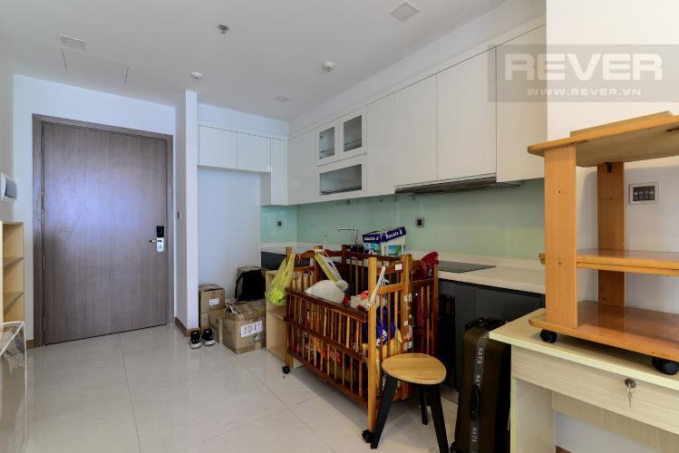 Nhà Bếp Cho thuê căn hộ Vinhomes Central Park 2PN tầng cao tháp Park 6, đầy đủ nội thất, view sông mát mẻ